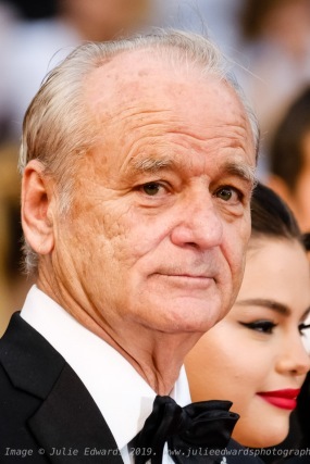 Bill Murray poses on the red carpet for the opening night film, The Dead Dont Die on Tuesday 14 May 2019 at the 72nd Festival de Cannes, Palais des Festivals, Cannes. Pictured: Bill Murray. Picture by Julie Edwards/LFI/Avalon. All usages must be credited Julie Edwards/LFI/Avalon.