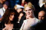 Elle Fanning poses on the red carpet for Les misérables on Wednesday 15 May 2019 at the 72nd Festival de Cannes, Palais des Festivals, Cannes. Pictured: Elle Fanning. Picture by Julie Edwards/LFI/Avalon. All usages must be credited Julie Edwards/LFI/Avalon.