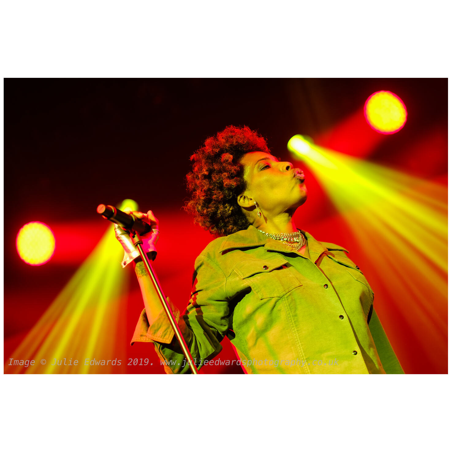 Macy Gray performs in the Saim Tent at WOMAD X-T2 & XF56@F1.2