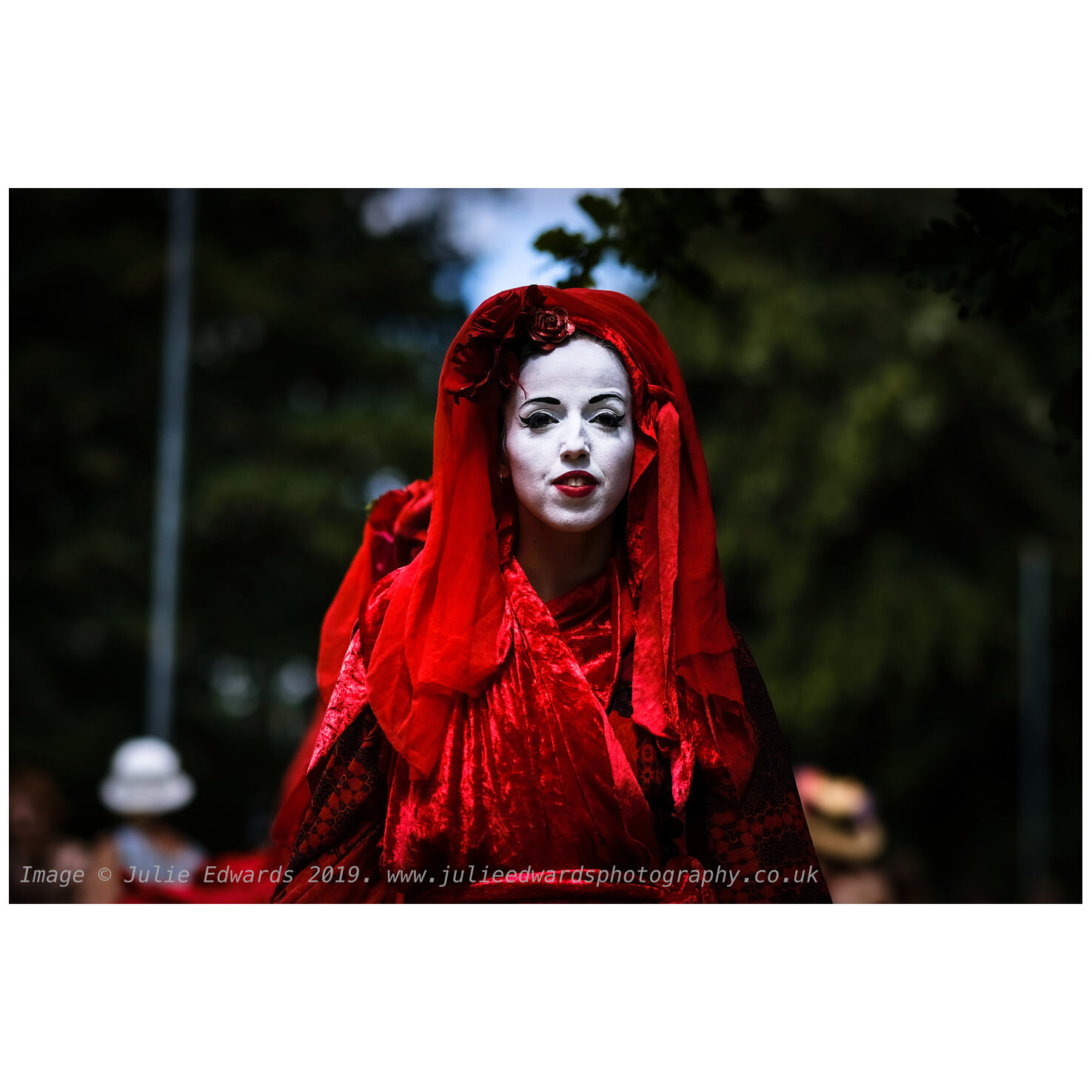 Extinction Rebellion The Red Brigade at the WOMAD Festival. X-T2 & XF90@F2